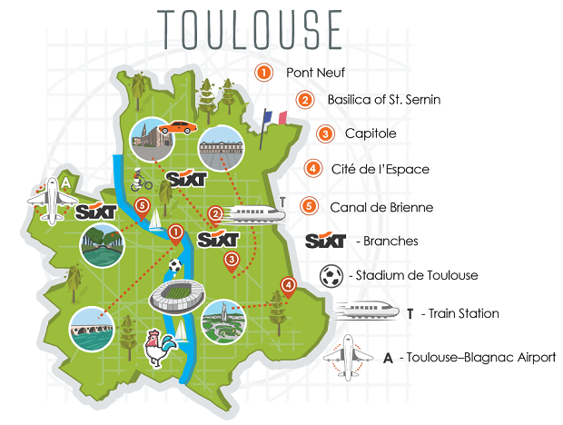 Hire A Car Toulouse Airport