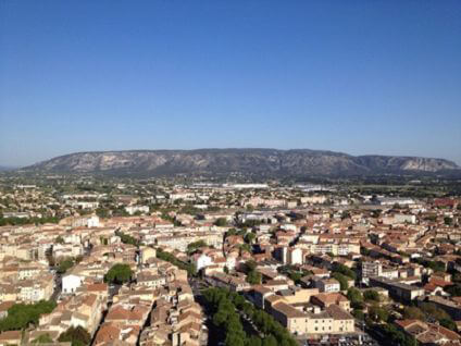 View of Cavaillon