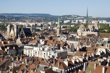 View of Dijon